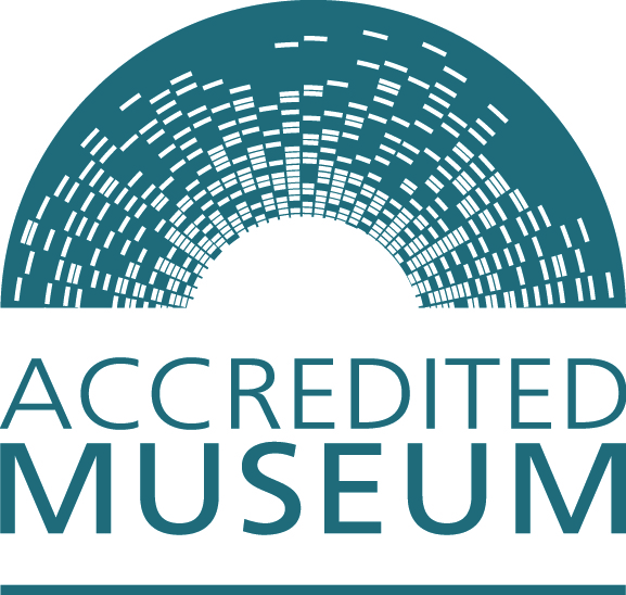 We are an accredited museum