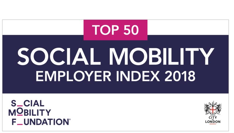 Social Mobility Employer Index 2018