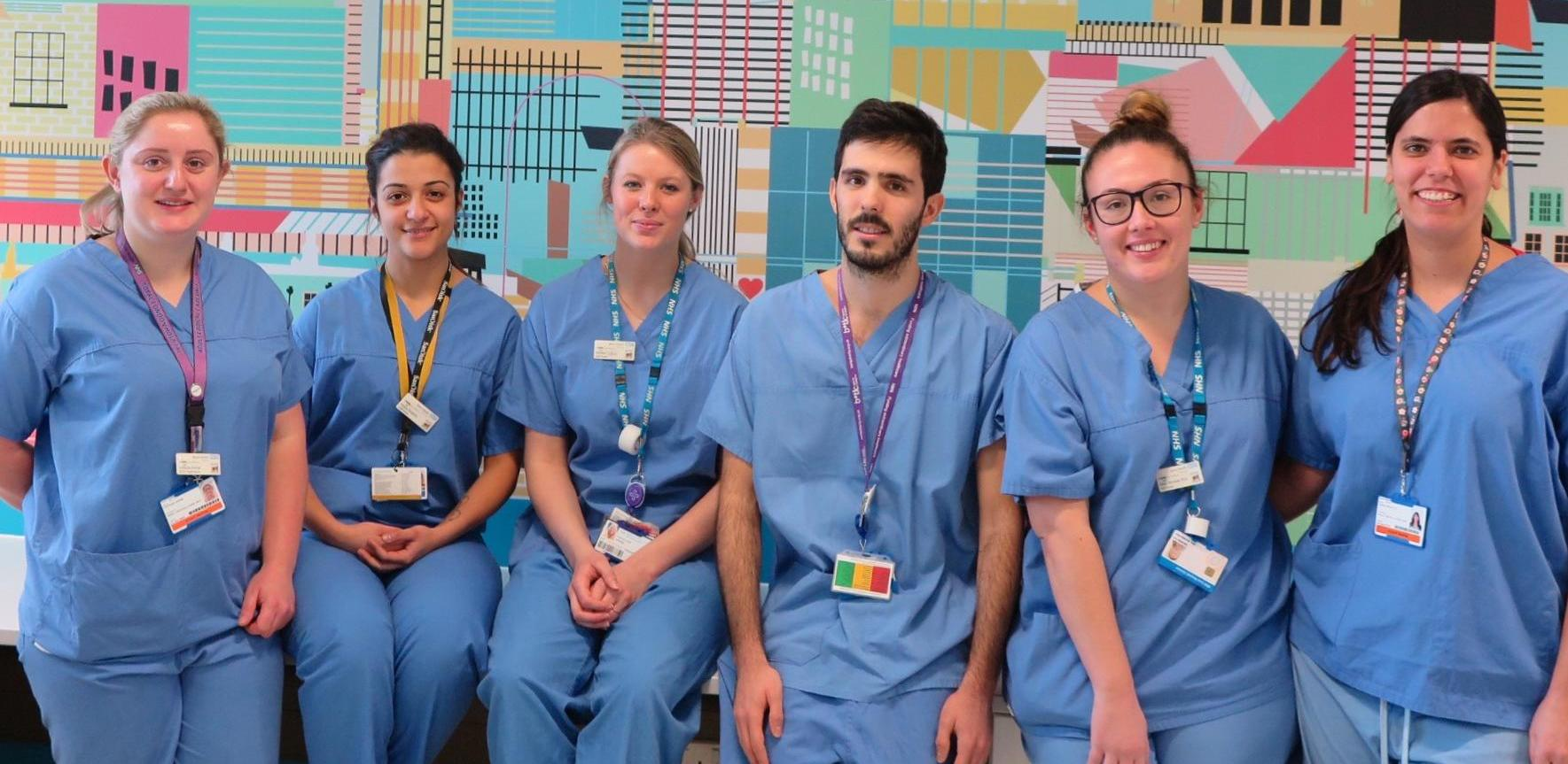 Join The Royal London's Adult Critical Care Unit