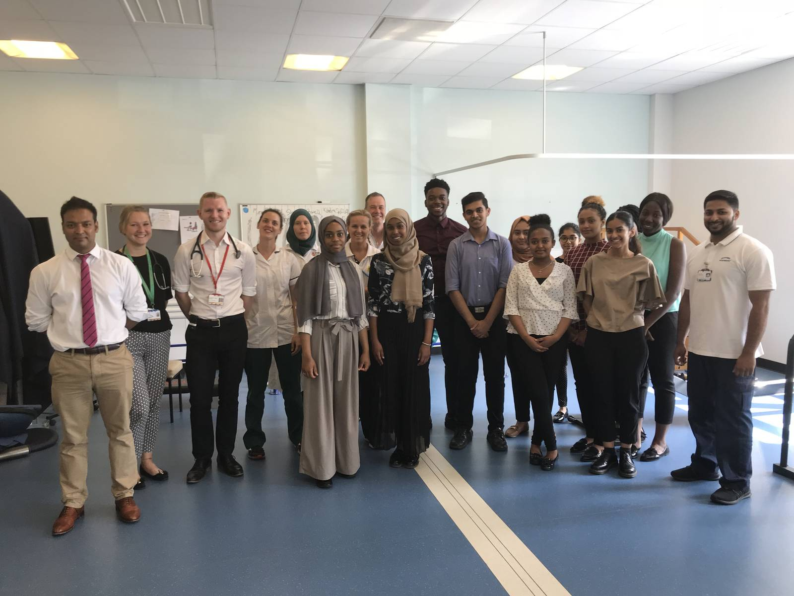 image-Dr Hafiz, Heather Ward team and  Brampton Manor 6th form students.jpg
