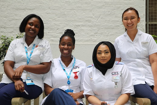 students, student group, student photo, undergraduate nurses, learners