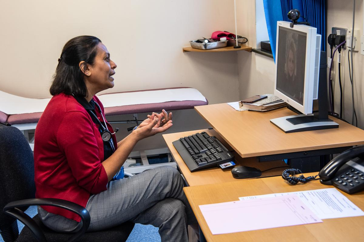 Video consultations for patients
