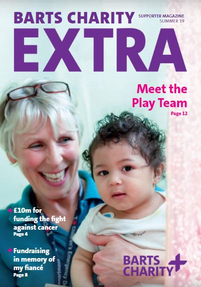 Barts Charity Extra Summer 19 cover