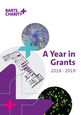 Barts Charity's Year in Grants booklet