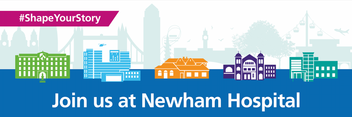 Shape your story - newham header