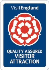 We are recognised by Visit England