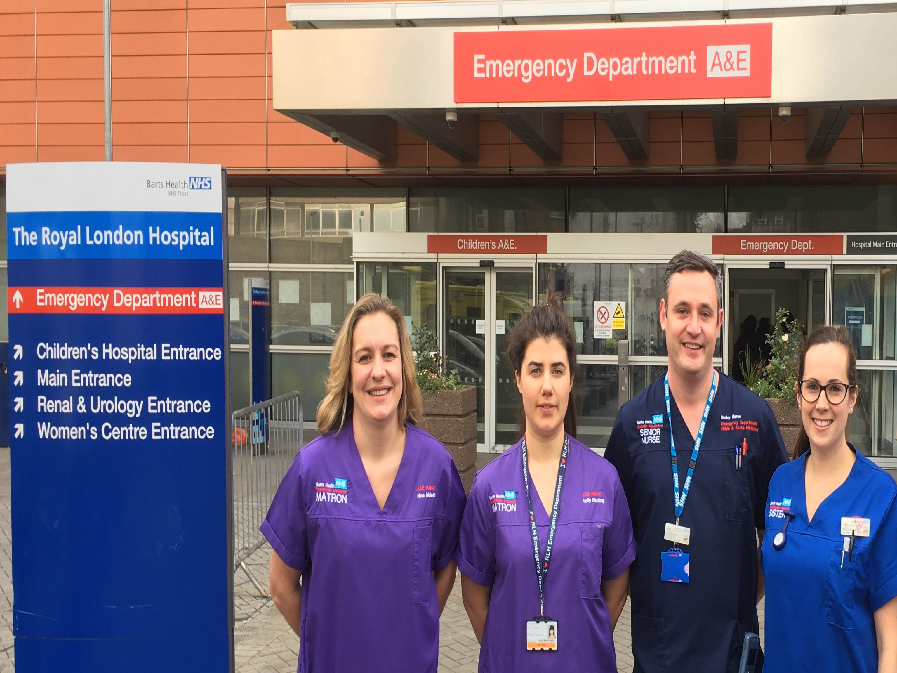 Emergency Department Team photo